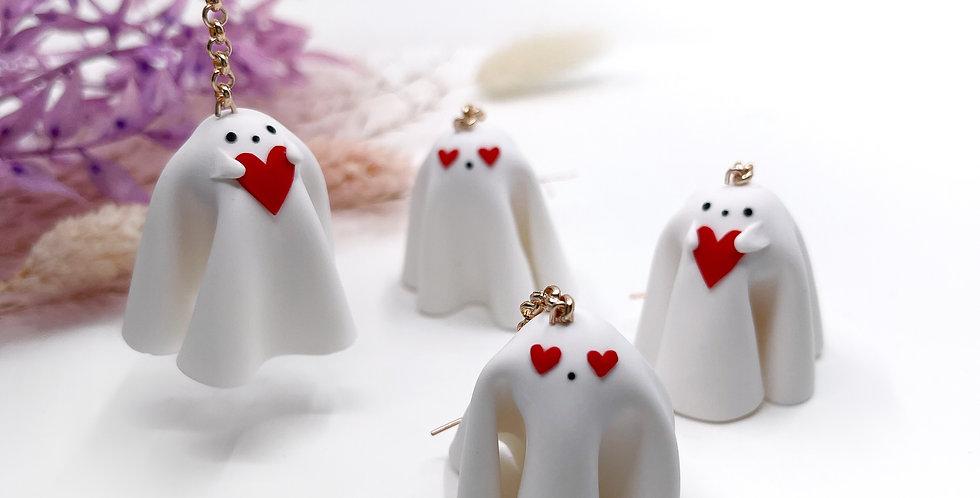 Ghosties in Love Earrings