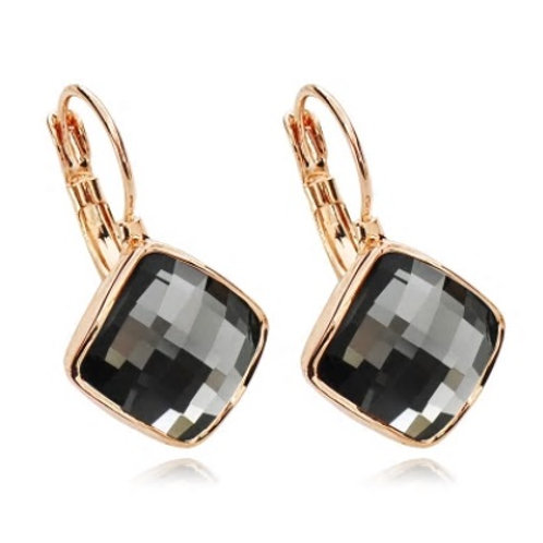 Midnight Squre Earrings