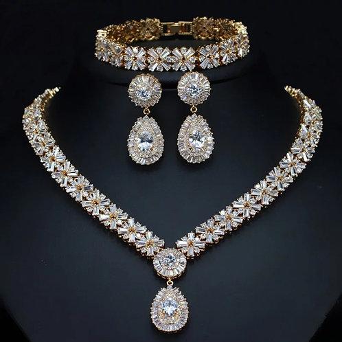 DUBAI WEDDING SET GOLD