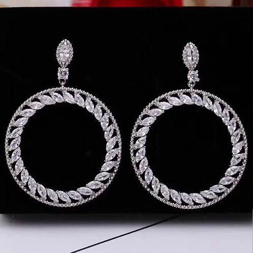 Tokyo Circle Earrings