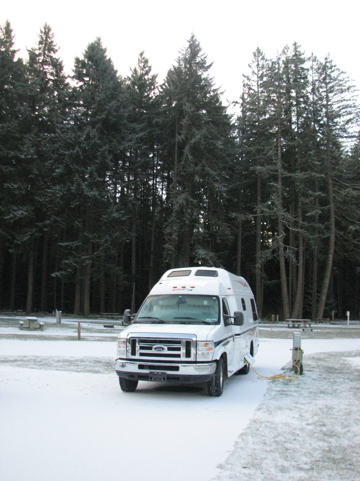 Wintering in Washington State