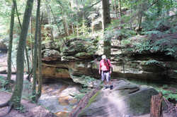 In search of Old Man's Cave