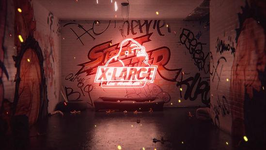 XLARGE® × Street Fighter / CM