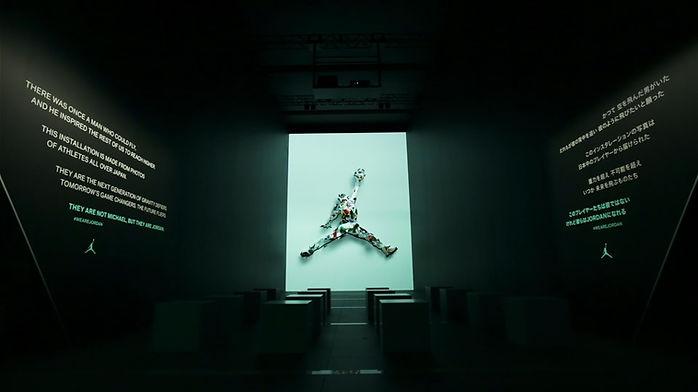 NIKE / AIRJORDAN 30TH / プロジェクション