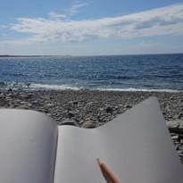 Skapa vid havet