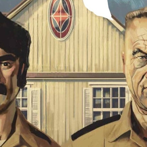 That Texas Blood #9 ADVANCE REVIEW: the tension builds as the cultists start to show