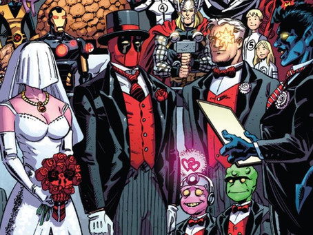 Deadpool V5 (2012) RETROSPECTIVE: The Wedding of Deadpool! The many weddings and deadings of Wade.