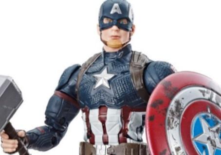 "It's Captain Hammer Time! Marvel Legends Captain America ""Worthy"" action figure is back."
