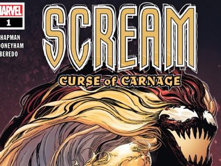 "Comics Creator Interview: Clay McLeod Chapman, writer of ""Scream: Curse of Carnage"""