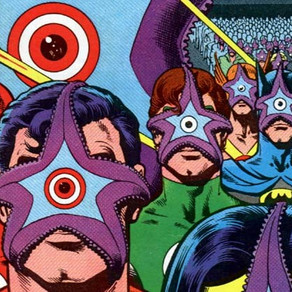 Retro Comic Cover Of The Week: Starro uses horrifying facehugging parasites on JLA #190 (1981)