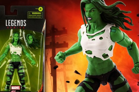 COLLECTIBLES: She-Hulk action figure announced for Avengers Marvel Legends Series