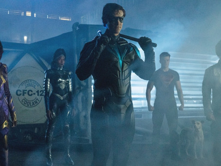 Titans S3E7-9 REVIEW: The fuse is lit, old friends come home, and robins take flight
