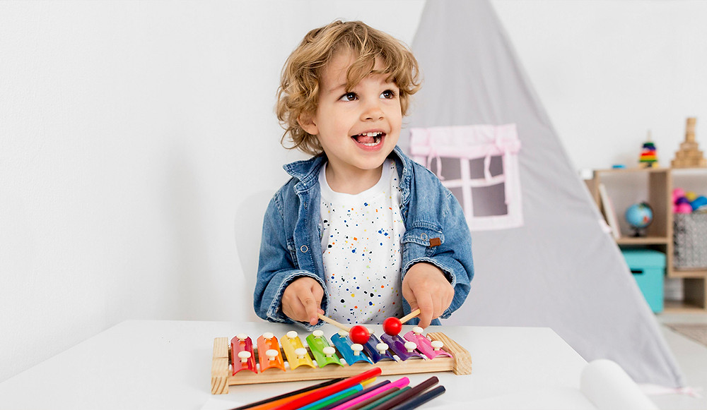 Child In A North Ryde Childcare Center