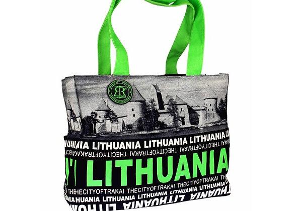 Rankinė City Face Trakai Lithuania su petnešomis