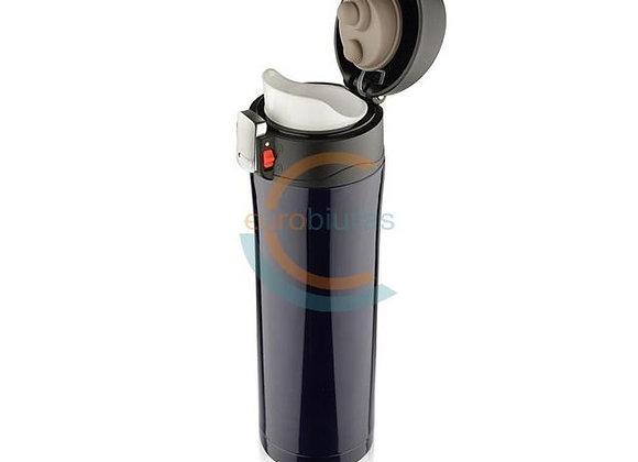 Termo puodelis LOCK 440ml juodas, Asgard