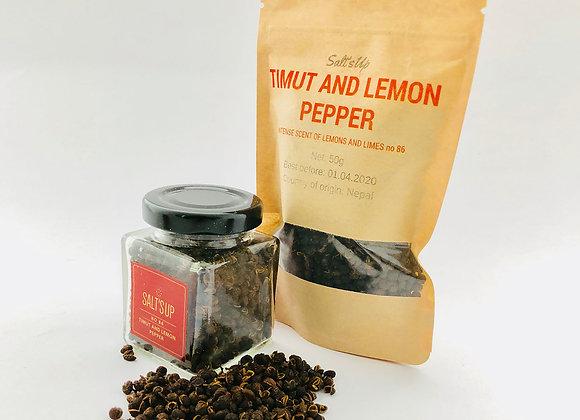 """Timut and lemon"" pipirai"