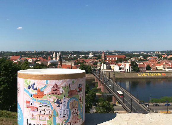 Lietuvos miestų dėlionės