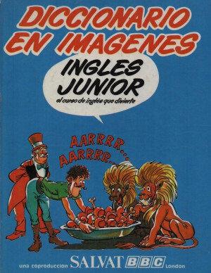 Diccionario con imágenes en Inglés Jr.
