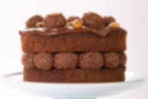 Torta de Brownie e Brigadeiro