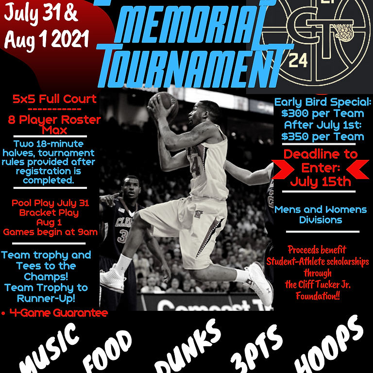 Cliff Tucker Jr Memorial Tournament 2021