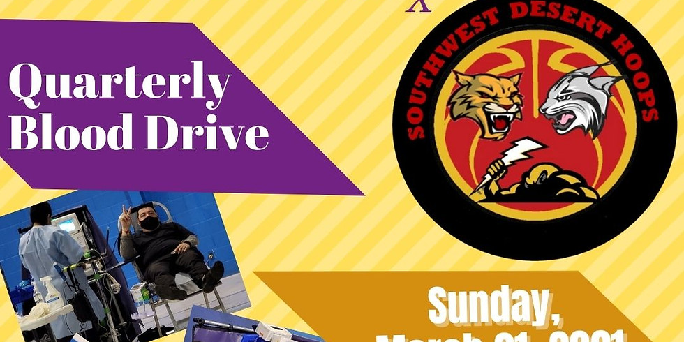 Desert Hoops X Vitalant Scholarship Blood Drive