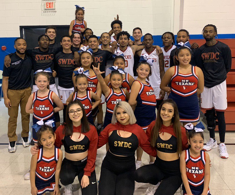 NE Texans Cheerleaders with SWDC