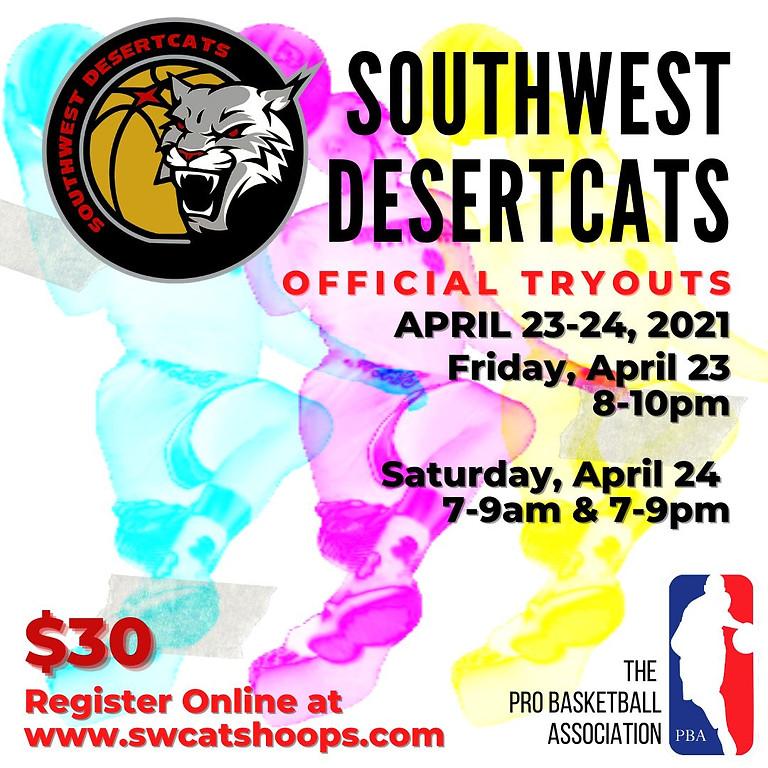 Southwest Desertcats PBA Tryouts 2021