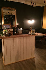 Mobile Bar in Vintage Setting