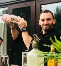 Bartender Shakes Cocktail Arts