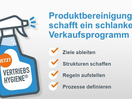 Zeit zum Aufräumen – Produktbereinigung im Verkaufsprogramm    Veröffentlicht am 7. Mai 2020