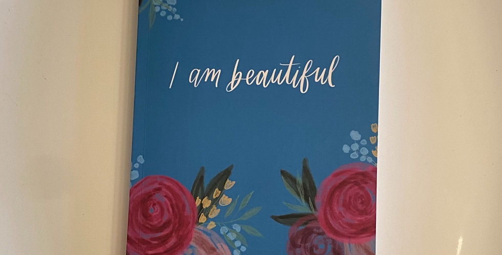 """I am Beautiful"" Journal-Sea Blue"