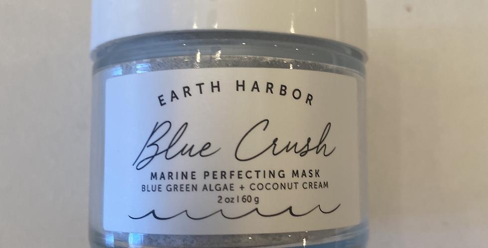 """Blue Crush"" Face Mask"