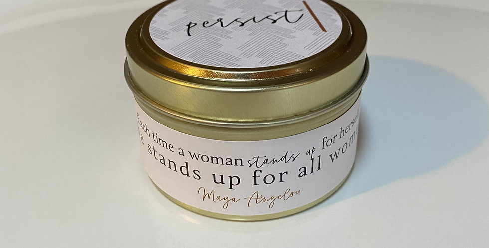 """The """"Persist"""" Candle-The Goddess Collection"""
