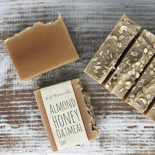 Almond Honey Oatmeal Wild Botanicals Soap