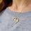Thumbnail: Honey Comb Heart Pendant