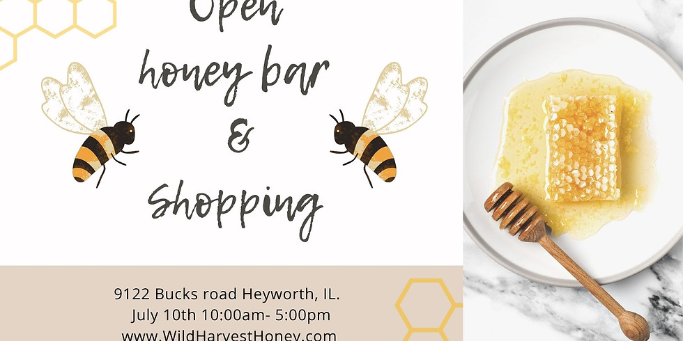 July 10th Honey Tasting and Shopping