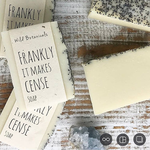 Frankly It Makes Cense Wild Botanicals Soap