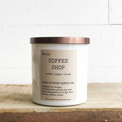 Coffee Shop Candle