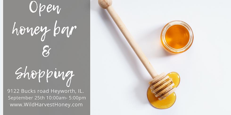 September 25th Honey Tasting and Shopping