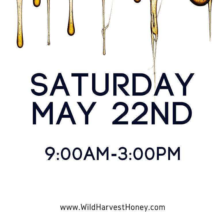 May 22nd Honey Tasting