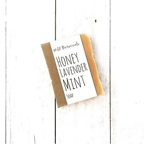 Honey Lavender Mint Wild Botanicals Soap