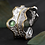 Thumbnail: Nature inspired ring with natural stones