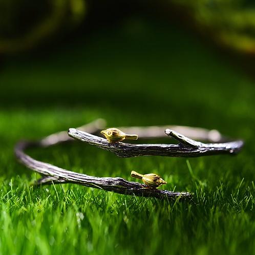 Birds on a Branch Bracelet