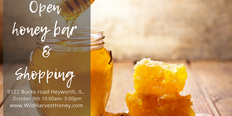 October 9th  Honey Tasting and Shopping