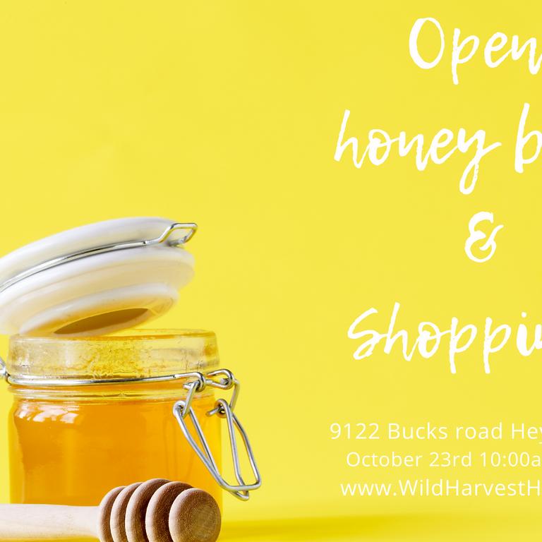 October 23rd  Honey Tasting and Shopping