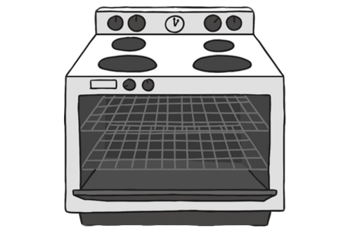 Inside Oven Cleaning