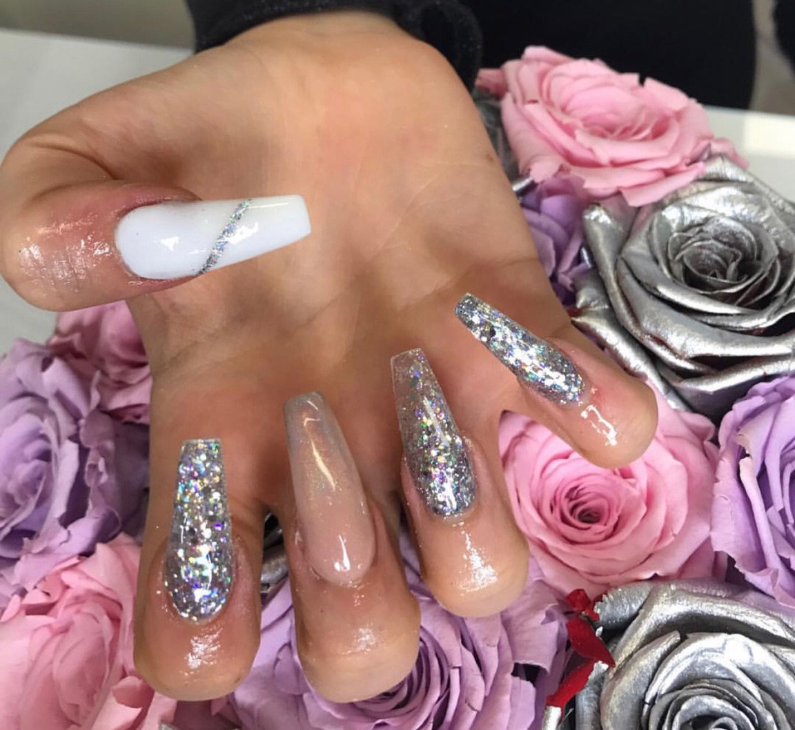 Acrylic Extensions With custom design