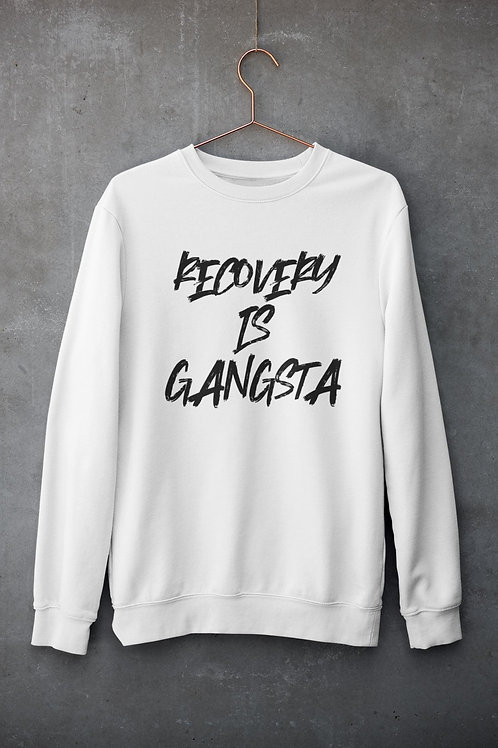 Recovery Is Gangsta Sweater
