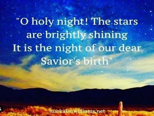 O Holy Night! The Stars Are Brightly Shining