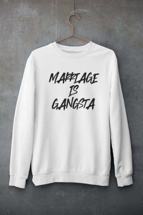 Marriage Is Gangsta Sweater